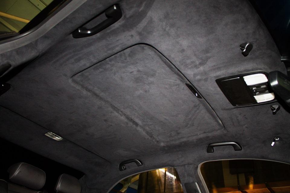 Как перетянуть правильно потолок автомобиля своими руками 33